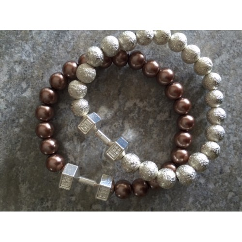Ladies two bracelet set